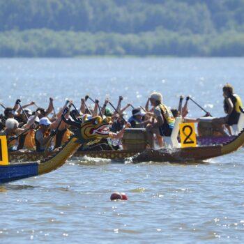 Dragon Boat Racing Vancouver Lake 1