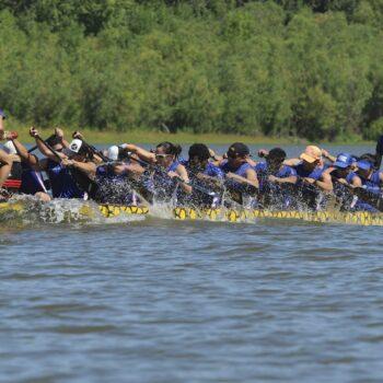 Dragon Boat Racing Vancouver Lake 4