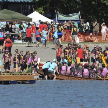 Dragon Boat Racing Vancouver Lake 5
