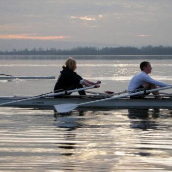 Rowing at Vancouver Lake